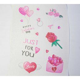 Glitterprint Saint Valentin