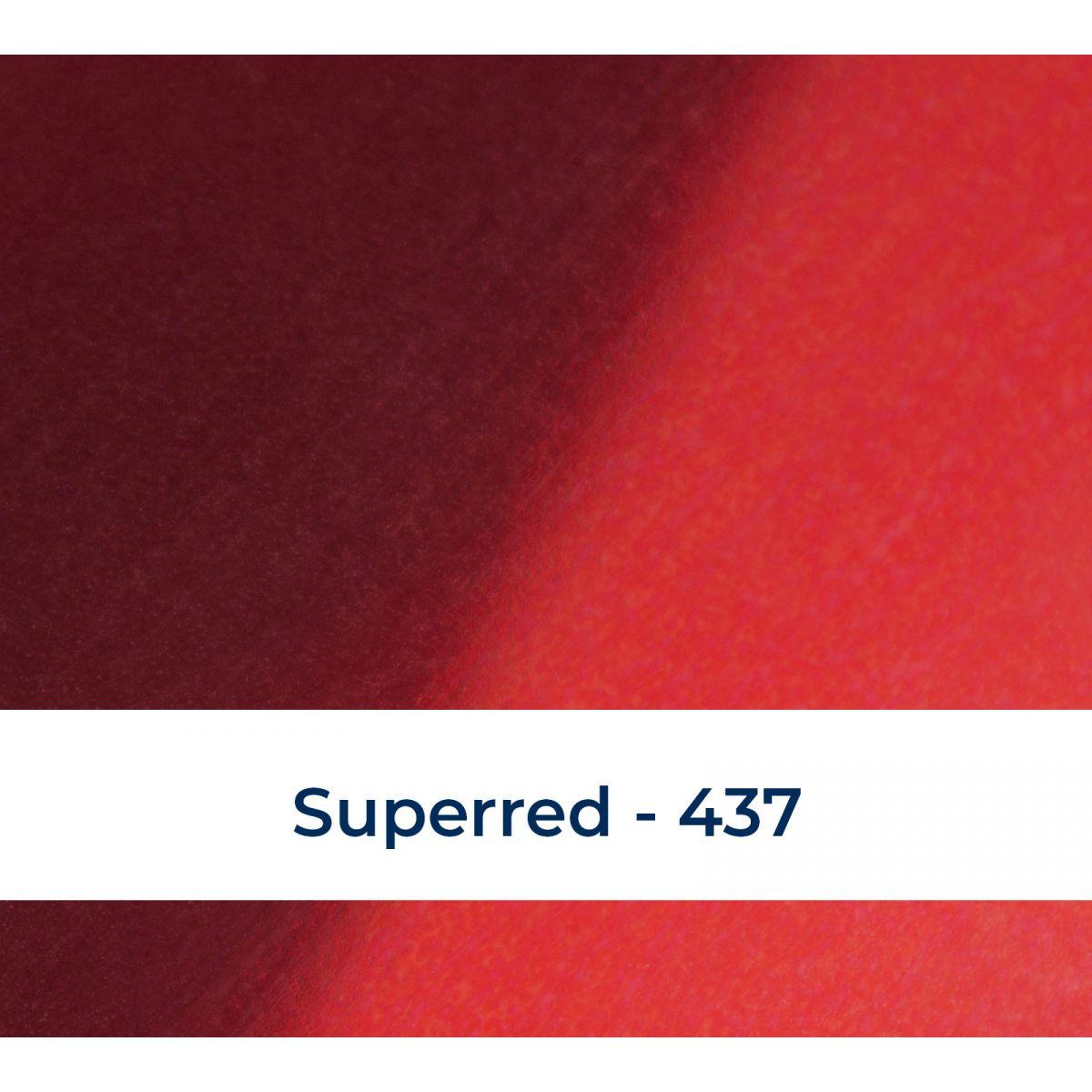 Metallic superred 437