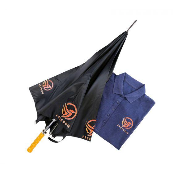 Hotmarkprint Revolution parapluie et polo