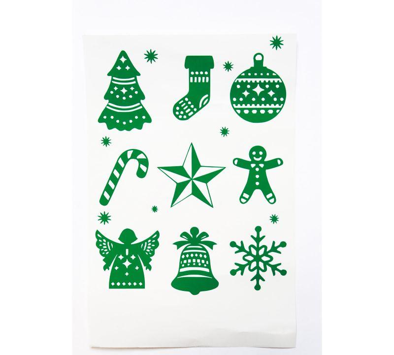 Planche de Noël n°1 Vinyle vert