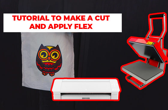 Tutorial to make a cut and apply flex