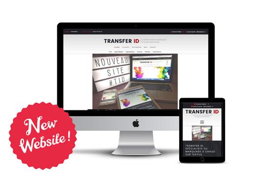 Venez découvrir le nouveau site de Transfer ID