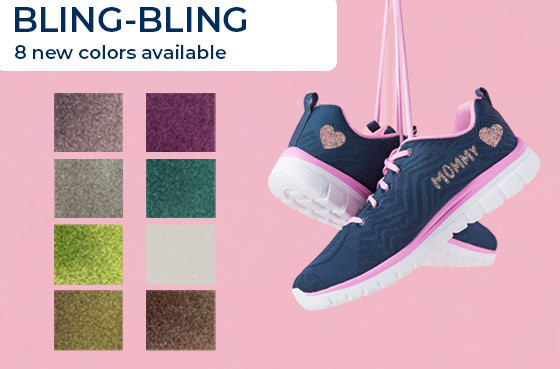 Bling-bling: 8 new colors available