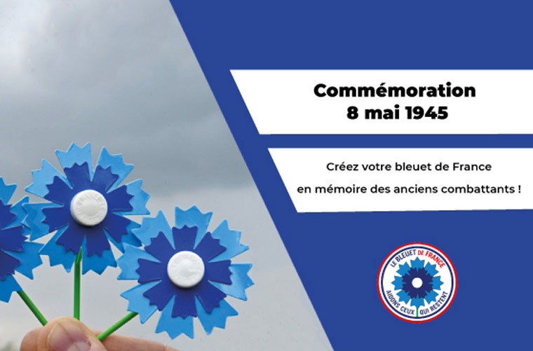 Créez votre bleuet de France chez vous facilement !