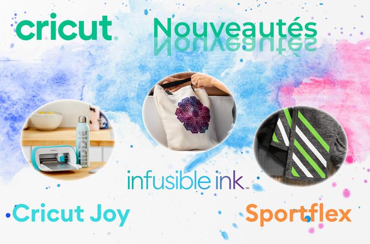 3 nouveaux produits Cricut débarquent chez Transfer ID !